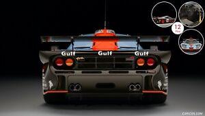 Genuine McLaren F1 GTR Rear Emblem Badge for the Mclaren F1GTR 92-98 Ultra RARE