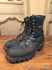 VINTAGE CHIPPEWA SCOUT LOGGING HIKING ENGINEERING MENS BOOTS SIZE 10 M
