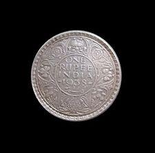 BRITISH INDIA RUPEE GEORGE VI 1938 SILVER KM 555 #4257#
