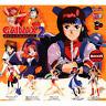 Bandai Gashapon Gainax Heroine part 2 FLCL Full Set of 5 Figure EVA Evangelion