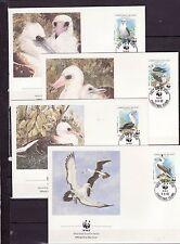 Christmas Islands 1990 - FDC - Vogels/Birds/Vögel  WWF