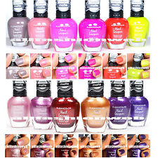 12 KLEANCOLOR NAIL POLISH MATTE SUMMER METALLIC LACQUER COLLECTION KNP9+KNP11