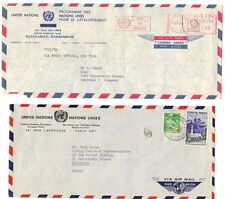 Madagascar-France Un 1970's Two Airmail Cvrs S/By Diplomatic Pouch Tananarive To
