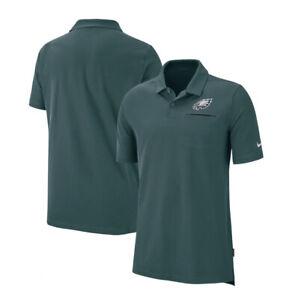Nike Philadelphia Eagles Men's Size M Sideline Elite Performance Polo AO3893-339
