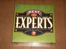 "BEAT THE EXPERTS UNIVERSITY 2002 GAME AGES 8 and UP-FAMILY ""TEST YOUR BRAIN""-NEW"