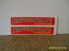 CORGI  503 CHIPPERFIELDS  BEDFORD LORRY GIRRAFE  STICKER SET NEW