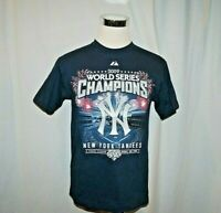 New York Yankees 2009 World Series Champs Youth XL T Shirt Jeter Rivera A-Rod