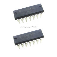 New 10PCS CD4013 4013 HCF4013 CMOS Dual D Flip Flop TI DIP-14 IC