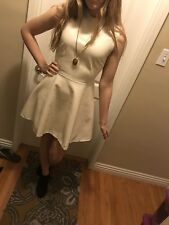 Honey punch Faux Leather Dress