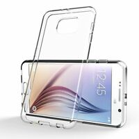 CLEAR GEL CASE & TEMPERED GLASS SCREEN PROTECTOR FOR SAMSUNG GALAXY J5 2016 J510