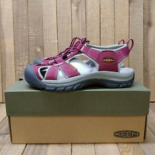 Keen Women's Venice H2 Waterproof Sport Hiking Sandals Size 7 Beet Red/Gray NEW