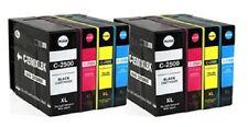 8 cartucce per Canon ib4050 mb5050 mb5350 come pgi-2500bk 2500c 2500m 2500y Chip