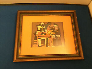 "Pablo Picasso ""Three Musicians"" Wonderlin Galleries Framed Print"