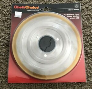 Chefs Choice International Slicer Blade For Electric Food Slicer Model 630 632 N