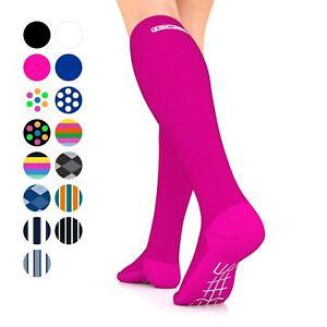 Compression Socks 15-22mmHg Graduated Womens Mens Stockings Go2 Elite Unisex