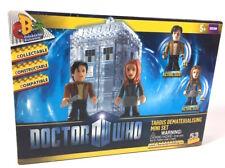 Doctor Who Tardis Dematerialising Mini Character Building Blocks Set w/figures