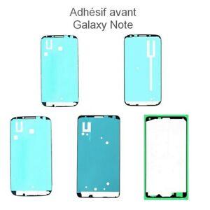 Pour Samsung Galaxy Note 1 2 3 3lite 4  Adhésif Avant écran autocollant sticker