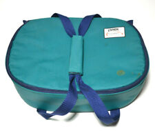 Pyrex Portables Insulated Carry Bag For Oval Casserole Dish Green Cover Case
