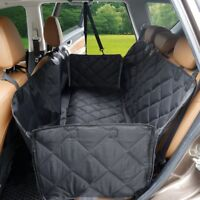 UK Pet Car Seat Cover Dog Safety Mat Rear Back Seat Protector Hammock with flap