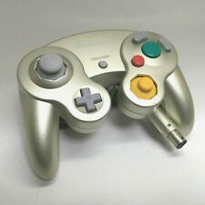 Official Nintendo GameCube Controller Starlight Gold Wii OEM Tight Stick 120204