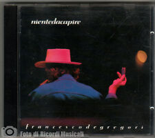 FRANCESCO DE GREGORI - NIENTE DA CAPIRE1990