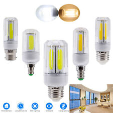 LED Corn COB Light Bulbs E26 E27 E14 E12 B22 12W 16W Bright Lamp Bulb For Home