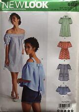 New Look 6512 Misses Blouses/Dresses  Assorted Styles  Sizes: XS - XL  UnCut  FF