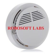 Security System Wireless Smoke Detector Fire Alarm for Home, office, Restuarant