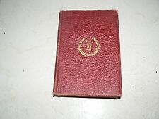 Antique Vintage Book Notre Dame by Victor Hugo Great Authors Library NY