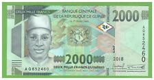 GUINEA -  2000 FRANCS - 2018 - P-new  - UNC - REAL FOTO