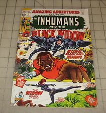 Amazing Adventures #7 Inhumans + Black Widow (July 1971) Good+ Con