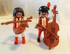 Playmobil Victorian Wedding Reception Musicians #5339, Violin, Bass Instruments