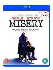 Misery 1990 Blu ray RB New Sealed Kathy Bates, James Caan