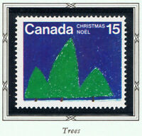 Canada #679(1) 1975 15 cent CHRISTMAS - CHILDRENS' DRAWINGS - TREES MNH