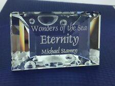 "Swarovski Crystal Plaque, 855626 - Eternity Title Plaque, 1.5""H - $45 V MIB"