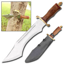Edge Ripper Double Sawback Outdoor Hunting Survival Military Giant Bowie Knife