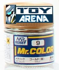 Mr. Hobby Mr. Color C9 Metallic Gold 10ml Bottle Paint Lacquer