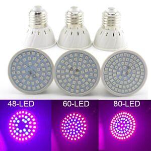 LED Plant Grow light For Home greenhouse Flower Vegs cultivo E27 Bulb phyto lamp