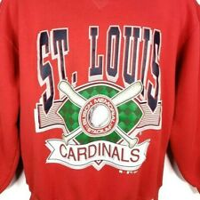 St Louis Cardinals Sweatshirt Vintage 90s Russell Athletic Made In USA Large