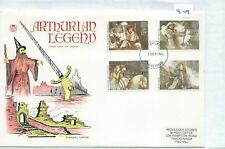 Gb - First Day Cover - Fdc - 909 - Specials - 1985 - Arthurian Legend