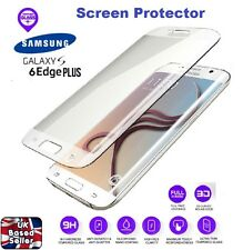 3D Curved Tempered Glass Screen Protector for Samsung S6 EDGE PLUS Transparent