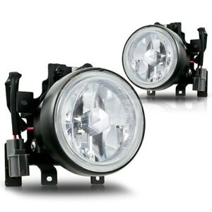 Pair right left fog lights & wiring kits for 2003 2004 2005 2006 honda element