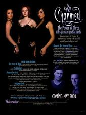 Charmed Power of Three 3 Trading Card Dealer Sell Sheet Promotional Sale 2003