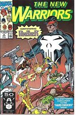 Marvel #009 - Mar 91 - The New Warriors -5.0 - Used