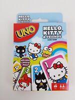 Uno Hello Kitty & Friends edition Mattel card game