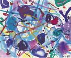 Sam Francis Trietto Aquatint Giclee Art Paper Print Poster Reproduction