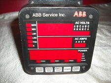 USED ELECTRO INDUSTRIES DMMS300-H POWER METER W/ DSP3, SF232DB2