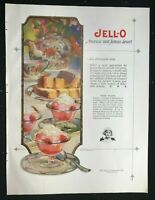 JELL-O / JELLO Color Print Ad -- Marion Powers Art - 1925 - 10 x 13