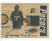2010-11 Panini Threads #d 003/399 Lance Stephenson #27 Rookie Auto Pacers