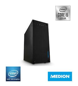 MEDION AKOYA P62024 PC, Intel i5-10400, 8GB RAM, 1TB SSD, 3yr warranty, WiFi,UHD